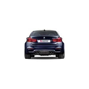 Akrapovic DI-BM-CA-4-G High Gloss Rear Carbon Fiber Diffuser for 2014-2017 BMW M3