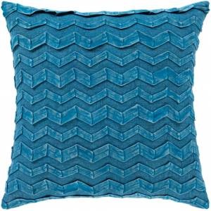 Surya CPR002-2020 20 x 20 in. Caprio Woven Pillow Cover, Bright Blue