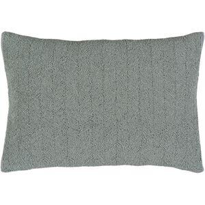 Surya GA004-1320 Gianna Pillow Cover - Medium Gray - 13 x 20 x 0.25 in.