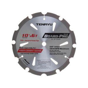 TenRyu 2695443 Board-Pro Plus 10 in. Dia. x 0.63 in. Polycrystalline Diamond Tipped Board Pro Saw Blade