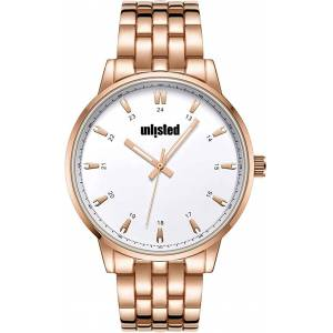 Unlisted UL51156002 45 mm White Kenneth Cole Round Analog Watch for Men
