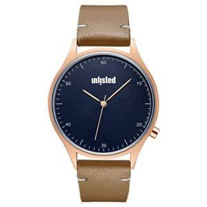 Unlisted UL51161003 42 mm Navy Blue Kenneth Cole Round Analog Watch for Men