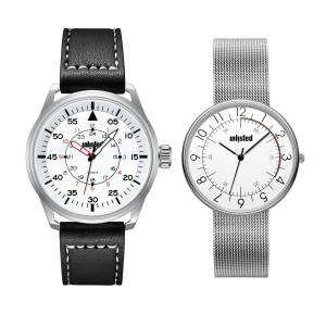 Unlisted UL51149004 44 mm White Kenneth Cole Round Analog Watch for Men