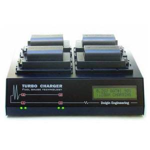 Dolgin Engineering DOLG-TC400-C-TDM 4 Position Charger with TDM - Canon BP-97X