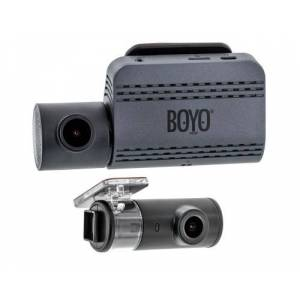 Boyo VTR219GW Full HD 2 CH Dash Camera Recorder