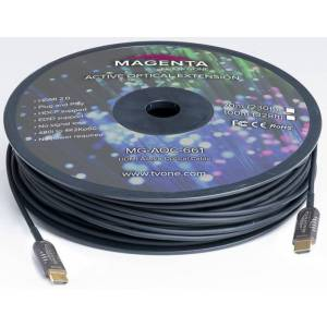 Magenta Research MGE-MG-AOC661-10 10m HDMI 2.0 Active Optical Cable, Black