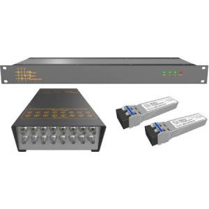 Matrix Switch MSC-SFL-122 16 Channel 3G-SDI - SDI & HDSDI Over Fiber Extender for CWDM Fiber Link Product Solution