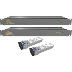 Matrix Switch MSC-SFL-124 16 Channel 3G-SDI - SDI & HDSDI Over Fiber Extender for CWDM Fiber Link Product Solution