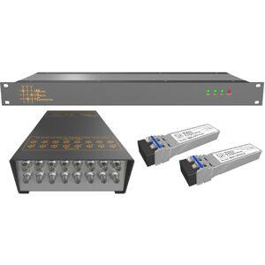 Matrix Switch MSC-SFL-123 16 Channel 3G-SDI - SDI & HDSDI Over Fiber Extender for CWDM Fiber Link Product Solution