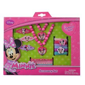 Disney 2336920 Pink Minnie Bowtique Accessory Box Set, 15 Piece - Case of 72
