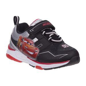 Disney O-CH85952O-Black Red-7 Pixar Cars Boys Light up Sneaker, Black & Red - Size 7