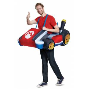 Dispguise Disguise DG15674AD Standard Inflatable Mario Kart Adult Costume - One Size Fits Most