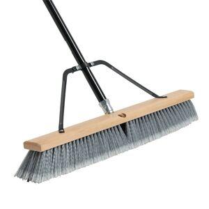 US.Shovels BR24BGM 24 in. Straight Back Indoor & Outdoor Push Broom