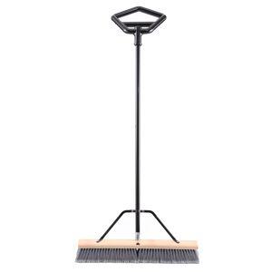 US.Shovels BR24BGF 24 in. Straight Back Garage & Porch Push Broom