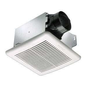 Delta Electronics GBR80H BreezGreenBuilder 80 CFM Exhaust Bath Fan, Dual Speed & Adjustable Humidity Sensor