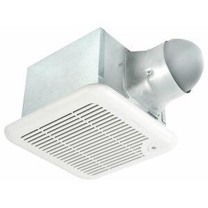 Delta Breezsignature SIG80-110MH 80-110 CFM Exhaust Bath Fan, Adjustable High & Low Speeds & Adjustable Humidity Sensor