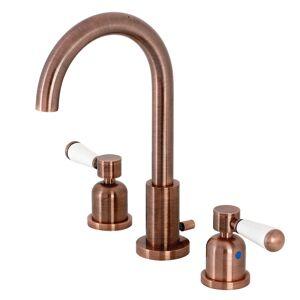 Fauceture FSC892DPLAC Paris Widespread Bathroom Faucet, Antique Copper