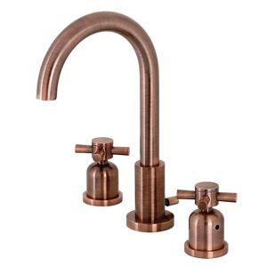 Fauceture FSC892DXAC Concord Widespread Bathroom Faucet, Antique Copper