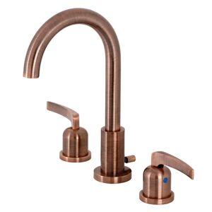 Fauceture FSC892EFLAC Centurion Widespread Bathroom Faucet, Antique Copper