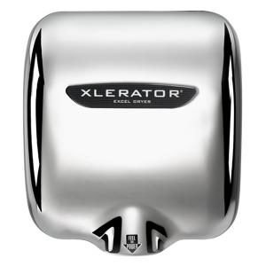 Excel Dryer 601161AH High Speed Hand Dryer XL-C-1.1N-H-110-120V - Chrome Plated