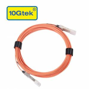 Mellanox Technologies MC220731V-015 15 m Active Fiber Cable VPI upto 56 Gbps - Orange