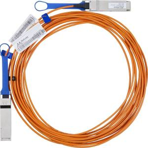 Mellanox Technologies MC220731V-020 20 m Active Fiber Cable VPI upto 56 Gbps - Orange