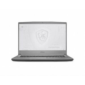 MSI WF65443 15.6 in. Intel Core i7-10750H 2.6-5.0GHz 16GB DDR4 1TB NVMe SSD Quadro T2000 USB3.2 Windows 10 Pro Mobile Workstation, Silver