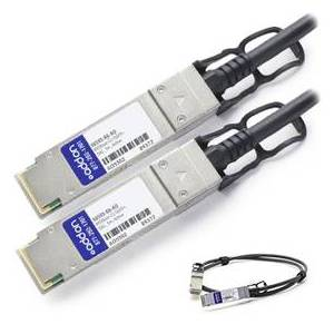 Add On AddOn X6595-R6-AO NetAPP Compatible TAA Compliant 40GBase-CU QSFP plus to QSFP plus Direct Attach Cable
