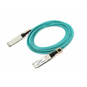 Axiom AOC-Q28-100G-25M-AX 25 m 100GBase-AOC QSFP28 Active Optical Cable for Dell