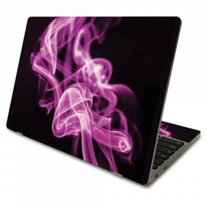MightySkins SACHBO411-Pink Flames Skin Compatible with Samsung Chromebook 4 2021 11.6 in. - Pink Flames