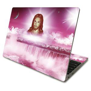 MightySkins SACHBO411-Jesus Skin Compatible with Samsung Chromebook 4 2021 11.6 in. - Jesus