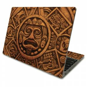MightySkins SACHBO411-Carved Aztec Skin Compatible with Samsung Chromebook 4 2021 11.6 in. - Carved Aztec