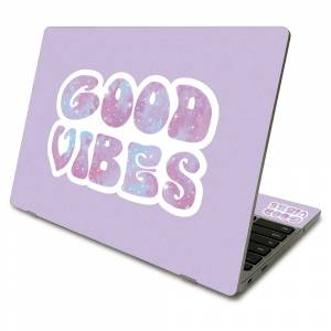 MightySkins SACHBO411-Good Vibes Skin Compatible with Samsung Chromebook 4 2021 11.6 in. - Good Vibes