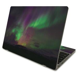 MightySkins SACHBO411-Aurora Borealis Skin Compatible with Samsung Chromebook 4 2021 11.6 in. - Aurora Borealis