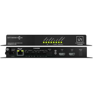 DILL AIR CONTROLS Attero Tech ATEC-UNHX2D Dante AES67 Enabled HDMI Audio De-Embedder & Embedder