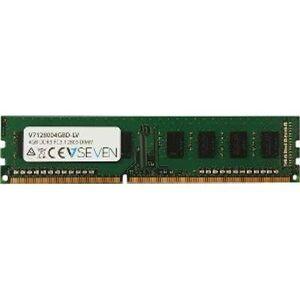 V7 World V7128004GBD-LV 4GB DDR3 1600MHZ CL11 Non ECC DIMM PC3L-12800 1.35V RAM Module
