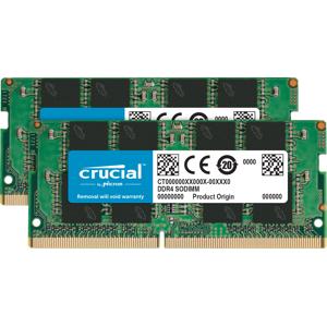 Crucial CT2K16G4SFD832A 32GB DDR4 3200 MTs CL22 SR x8 Unbuffered SODIMM 260pin UDIMM RAM Kit