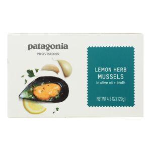 PATAGONIA HG2474674 4.2 oz Mussels Lemon Herb Snack - Case of 10