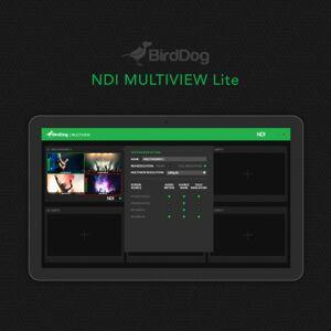 Birddog BDS-BDMVLITE Multiview Lite Streaming Downloaded Software