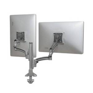 Chief Mounts CHF-K1C220SXRH K1C Dual Monitor Dynamic Column Mount Reduced Height - Silver