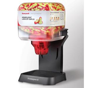 Honeywell 154-HL400 Plastic Earplug Dispenser, Case of 800