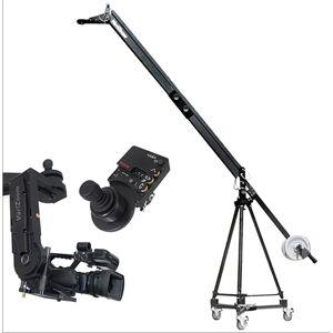 VariZoom VZ-VZQJ2K-CPJ QuickJig Camera Crane Kit with CinemaProJR-K4 Remote Head