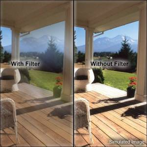 SOLAR RIG TECHNOLOGIES, LLC The Tiffen PMF-4X4-5 4 x 4 Pro Mist No.5 Filter