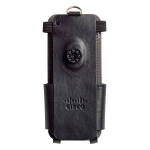 Cisco Systems CP-LCASE-8821- Wireless IP Phone Leather Case with Belt & Pocket Clip