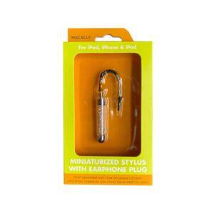 Kole Imports DD540-60 Macally Clear Miniaturized Stylus with Plug - Case of 60