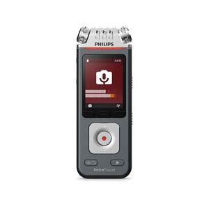 Philips PSPDVT7110 Speech VoiceTracer Audio Recorder Professional, Black & Silver