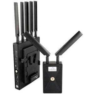 Vidovation VO-VLKRCHR1500VL 1500 ft. Reacher 1500 Zero Latency HDMI & 3G-SDI Wireless Video System with V-Lock Plate