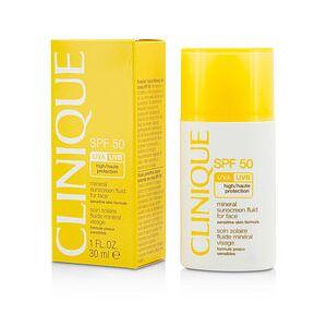 Clinique 289319 1 oz Mineral Sunscreen Fluid for Face SPF 50 for Women - Sensitive Skin formula