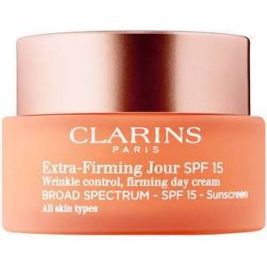Clarins 220997 1.7 oz Extra-Firming Jour Wrinkle Control, Firming Day Cream SPF 15 for All Skin Types