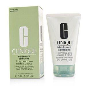 Clinique 222695 4.2 oz Blackhead Solutions 7 Days Deep Pore Cleanse & Scrub